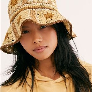 Free People NEW Crocheted Hat